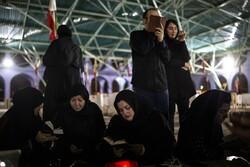 مراسم احیای شب بیست و یکم ماه مبارک رمضان در اهواز