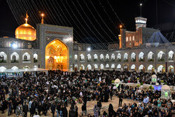 Laylat al-Qadr observed in Imam Reza holy shrine