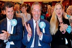 «حزب برگزیت» پیروز انتخابات پارلمان اروپا در انگلیس شد