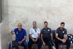 تیم فوتبال ذوب آهن وارد قطر شد