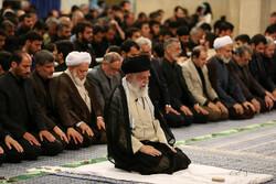 رہبر معظم کی موجودگی  میں حضرت علی (ع) کی شہادت کی مناسبت سے مجلس عزا منعقد