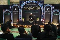 مراسم احیای شب بیست و یکم ماه مبارک رمضان در لارستان