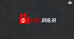 A logo for the IRIB Live TV.