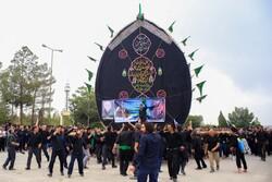 """مراسم العزاء في محافظة """"يزد"""" بمناسبة ذكرى استشهاد أمير المؤمنين / صور"""