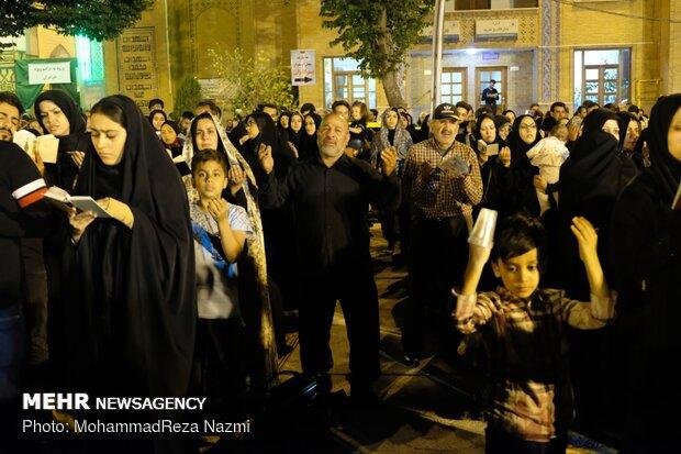 مراسم احیای شب بیست و یکم ماه مبارک رمضان در حرم عبدالعظیم حسنی(ع)