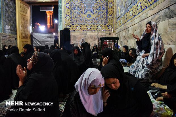Laylat al-Qadr observed in Imam Reza holy shrine