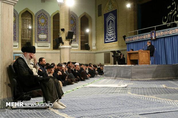 مراسم سوگواری سالروز شهادت مولای متقیان امام علی(ع) در حسینیه امام خمینی