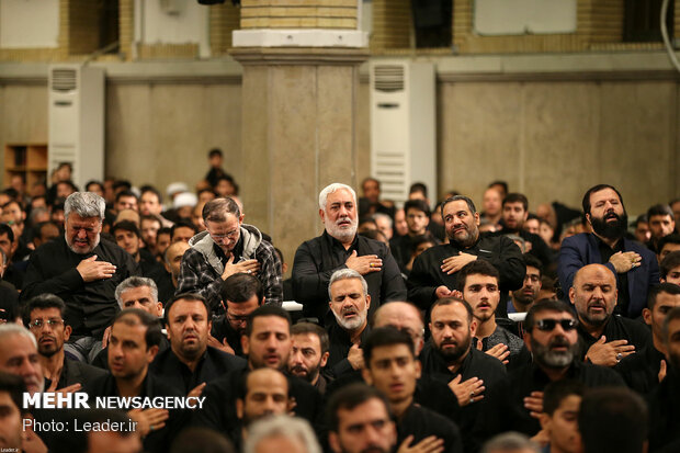 Mourning ceremony for Imam Ali (AS) with Leader in attendance