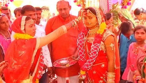 بھارتی گاؤں جہاں بھائی کی جگہ بہن دلہا بنتی ہے