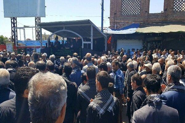 آذربایجان غربی در سالروزشهادت امام علی(ع) غرق ماتم و عزا است