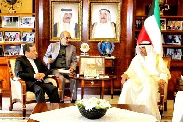 Zarif'in mesajı Kuveyt Dışişleri Bakanı'na sunuldu