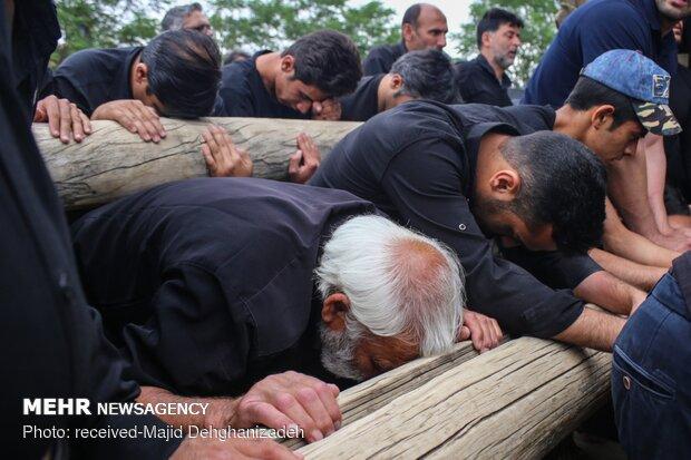 """مراسم العزاء لذكرى استشهاد أمير المؤمنين في """"يزد"""""""