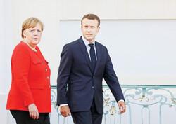 Emmanuel Macron - Angela Merkel