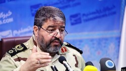 The commander of Iran's Civil Defense Organization Gholamreza jalali