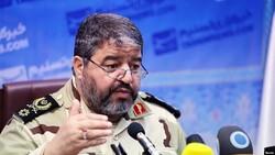 The commander of Iran's Civil Defense Organization Gholamreza jalali