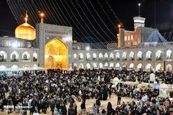 Night of Destiny observed in Imam Reza (AS) shrine