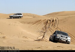 Maranjab is a popular place for off-roading.