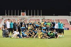 تصاویری از آخرین تمرین تیم فوتبال ذوب آهن در قطر