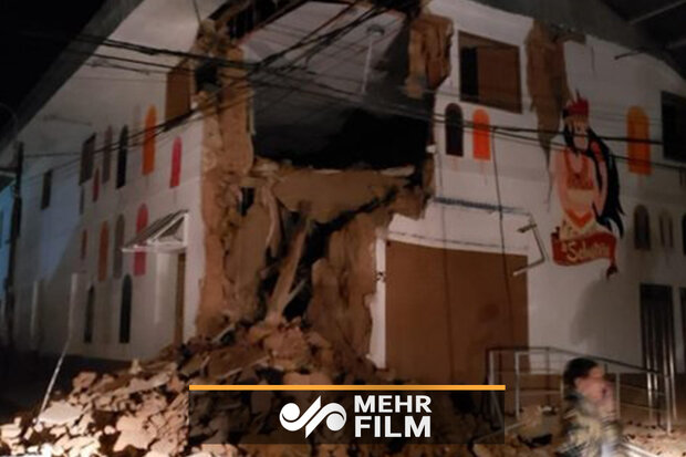 پیرو میں 8 شدت زلزلہ کی تصاویر