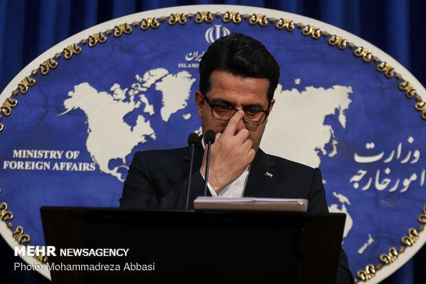 İran'ın yeni Dışişleri Bakanlığı Sözcüsü, ilk basın toplantısında konuştu