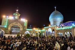 Tahran'da Kadir gecesi merasimi