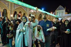 مراسم احیای شب بیست وسوم ماه مبارک رمضان در حرم عبدالعظیم حسنی(ع)
