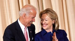 Hillary Clinton- Joe Biden
