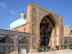 Visit Imam Khomeini Mosque in downtown Tehran