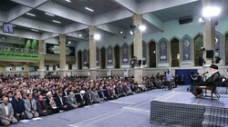 The Leader Ayatollah Khamenei made the remarks in a meeting with a number of university professors, elites and researchers
