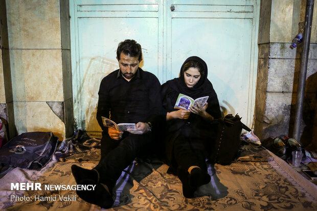 مراسم احیای شب بیست و سوم ماه مبارک رمضان در حسینیه همدانیهای تهران