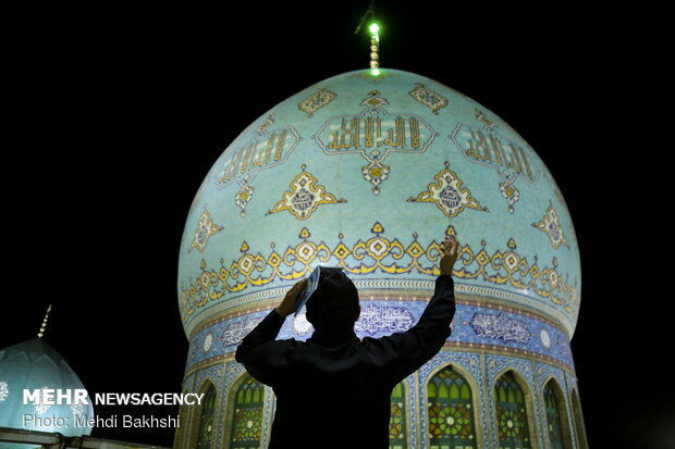 Night of Decree observed in Jamkaran Mosque