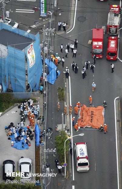 حمله با چاقو در ژاپن
