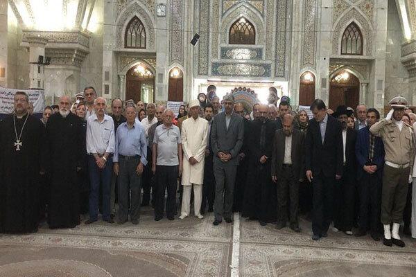 تجدید میثاق نمایندگان ادیان و مذاهب الهی با آرمان های امام راحل