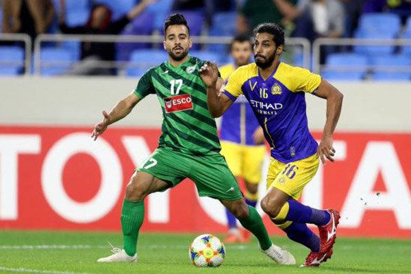 تساوی ذوب آهن ایران و النصر عربستان در نیمه نخست