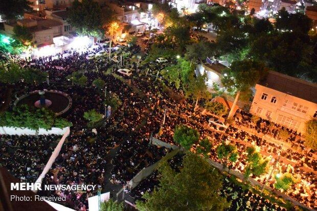 مراسم احیای شب بیست و سوم ماه مبارک رمضان در مسجد بهشتی تهران