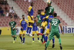 تصاویری از دیدار تیم های فوتبال ذوب آهن و النصر عربستان