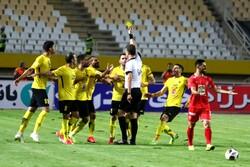 مشاهد من مباراة برسبوليس وسباهان اصفهان /صور