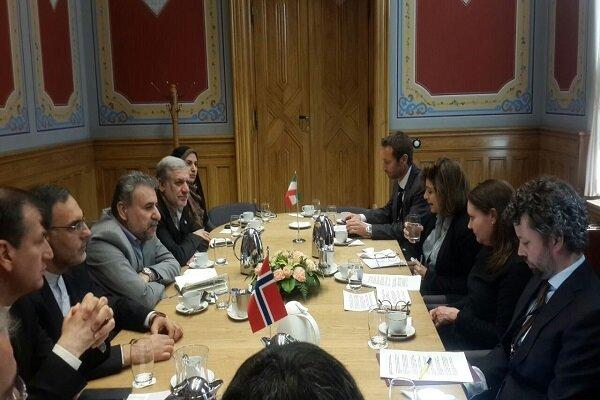 Iran, Norway discuss parliamentary ties in Oslo