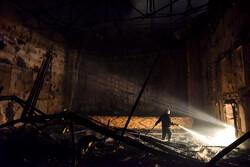 آتش در سینما بهمن شیراز
