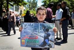 تکرار حماسه مشتهای گره کرده در استان سمنان/ فلسطین تنها نیست