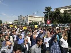 """İran'da """"Dünya Kudüs Günü"""" gösterileri gerçekleşti"""