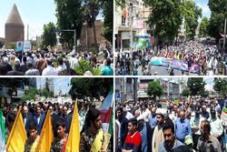 فریاد نه به معامله قرن مردم استان تهران خواب استکبار را آشفته کرد