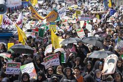 مردم اردبیل شکست معامله قرن را فریاد زدند/مقاومت رمز پیروزی است