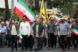 تہران میں عظیم الشان ریلی کا اہتمام
