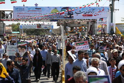 راهپیمایی حماسی روز قدس در قم