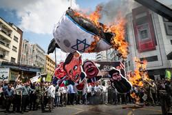 Tahran'daki Kudüs Günü gösterilerinden fotoğraflar