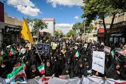 تبیین اندیشه مقاومت و اعلام انزجار از رژیم صهیونیستی ادامه دارد
