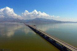 'Water level at Lake Urmia unprecedented for the past decade'