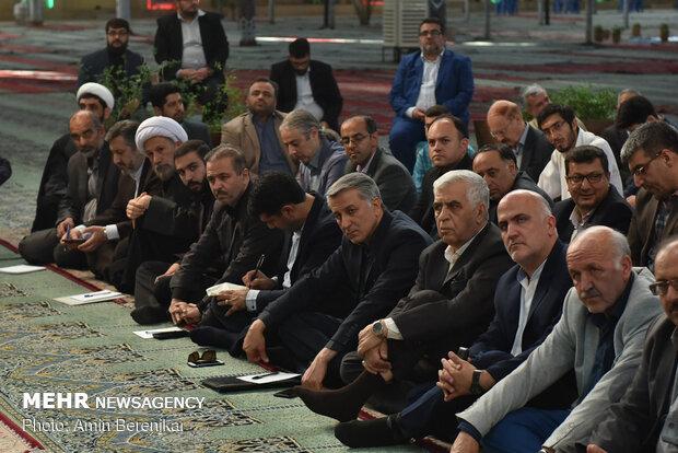 دیدار صمیمانه اصحاب فرهنگ، هنر و رسانه با نماینده ولی فقیه در فارس