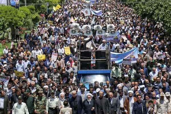 بدء فعاليات يوم القدس العالمي في ايران ودول العالم